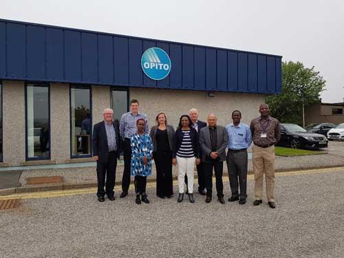 Benchmarking Visit Kenyan Delegates MIOG Completed