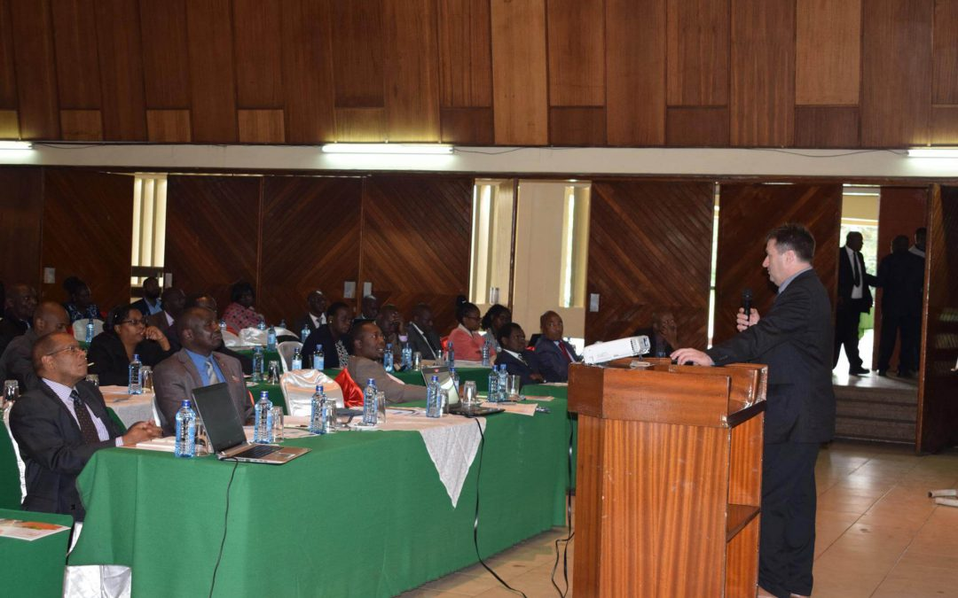 TVET Authority quality assurance presentation held in Kenya