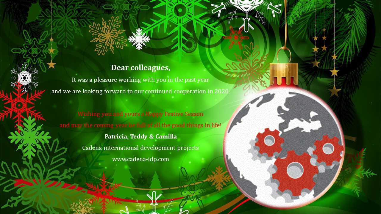 Best Wishes from the  Cadena Team!
