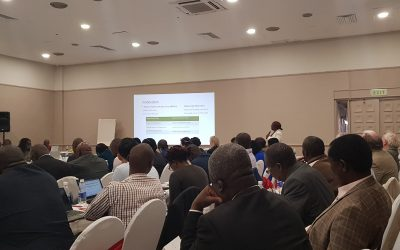 Participating in the Joint Sector Review (JSR) Zimbabwe!