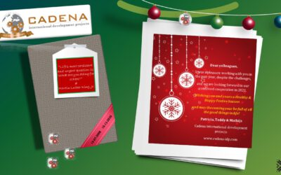 Cadena wishes you all a happy and healthy festive season!
